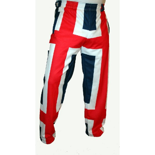 Union Jack Men's Trouser. £ Loudmouth Golf trousers are fun! A cotton-spandex blend, our pants deliver comfort and style like no other golf pant. Perfect for a round of golf and night on the town. Fabric * 97% cotton, 3% spandex * Cotton-spandex fabric blend offers breathable comfort and flexibility.