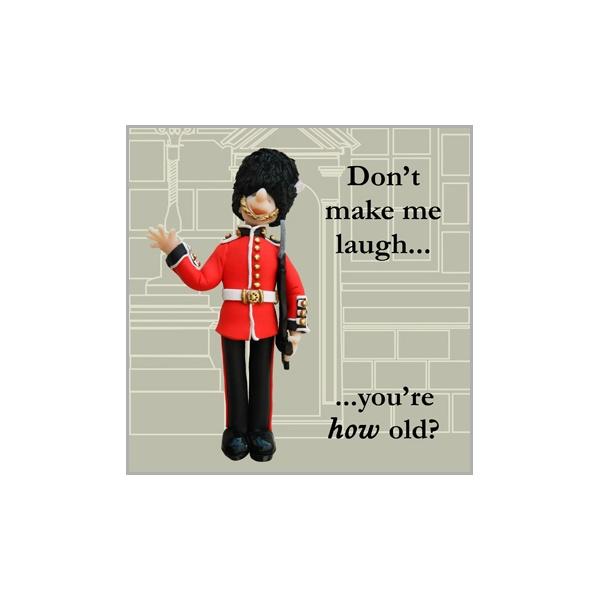 British Guard Birthday Card