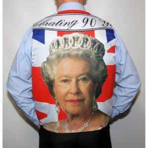 HRH The queens 90th Birthday waistcoat