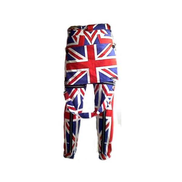 4591a0acfef Union Jack Bondage Trousers