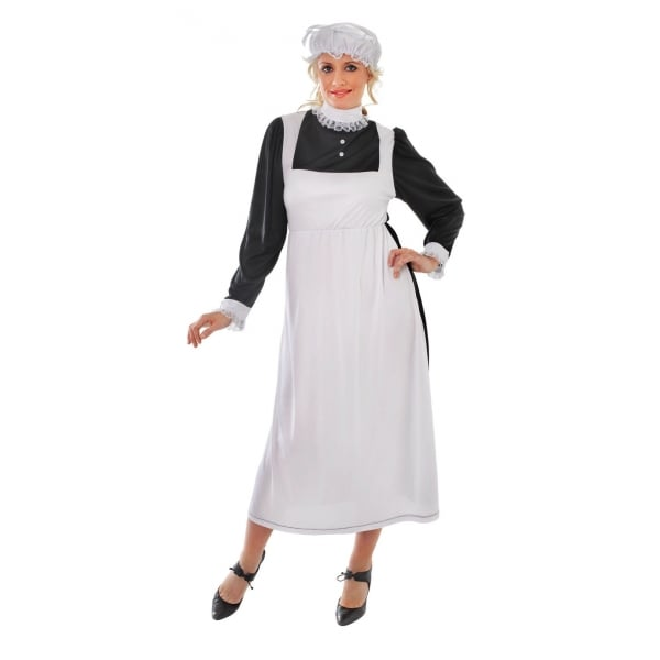 Victorian Maid Fancy Dress Costume for Adults ...  sc 1 st  Union Jack Wear & Downton Abbey Victorian Maid Fancy Dress Kit