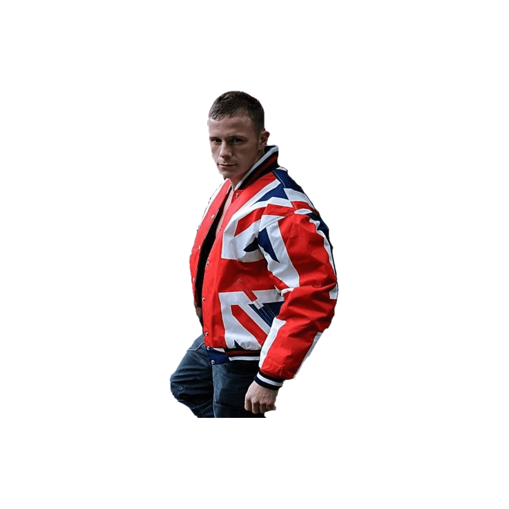 530082bdad4 Union Jack Flag Bomber Jacket