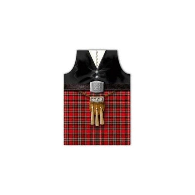 Union Jack Wear Scotland Piper Apron