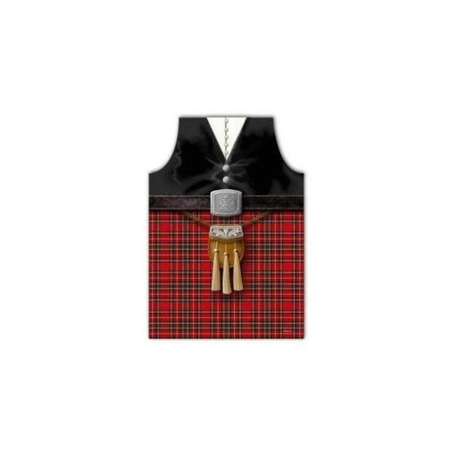 Union Jack Wear Scotland Piper Apron