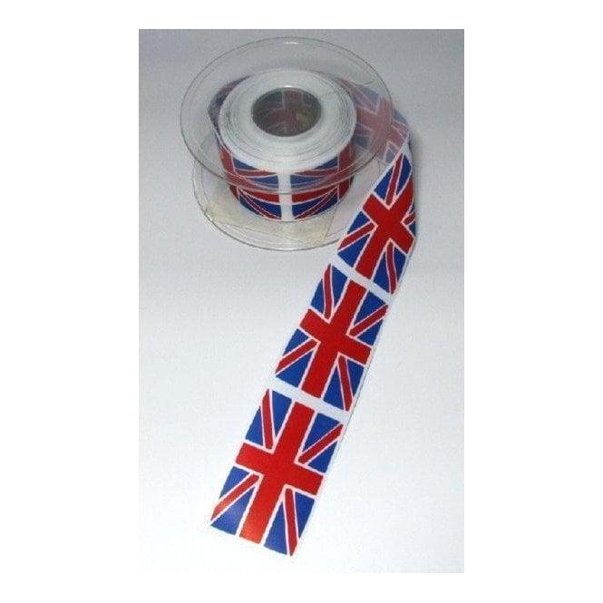 Union Jack Wear Union Jack Flag Ribbon Red White & Light Blue