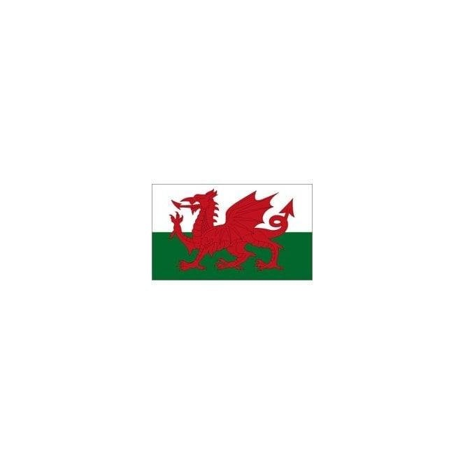 Union Jack Wear Welsh Dragon Flag 3'x'2