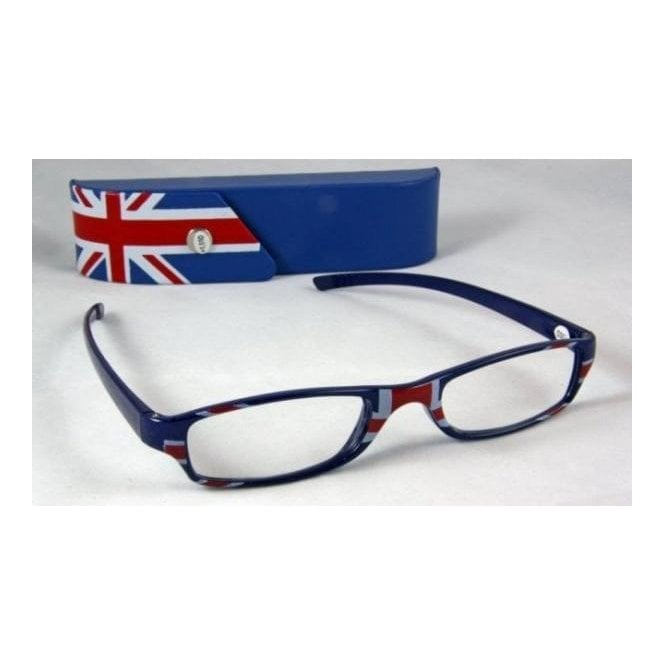 Union Jack Reading Glasses - strength 3