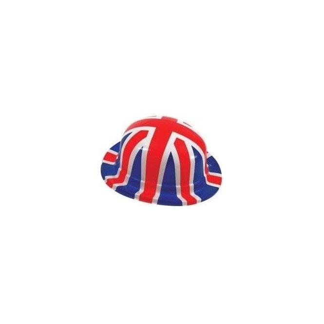 Union Jack Wear Union Jack Plastic Bowler Hat