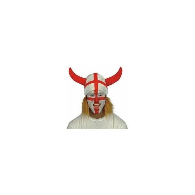 St George Viking Helmet hat with Ginger hair