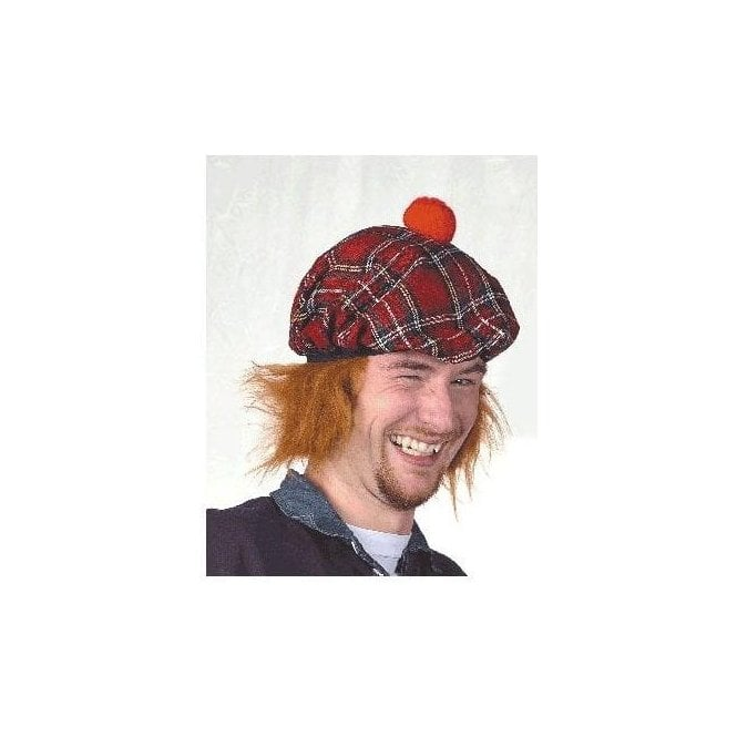 Union Jack Wear See You Jimmy hat - Tartan with ginger hair