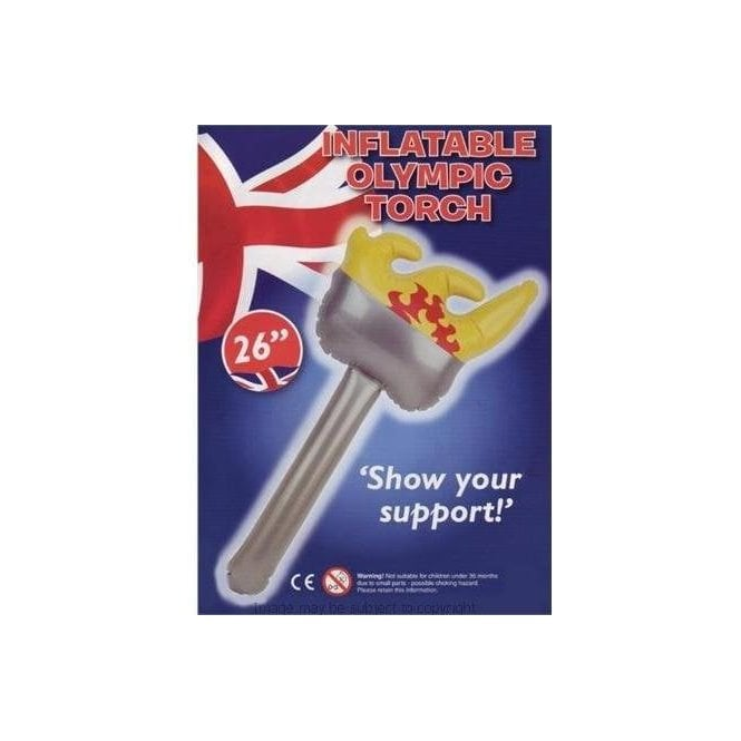 PMS Olympic Inflatable Torch 26 inches Sports Day?