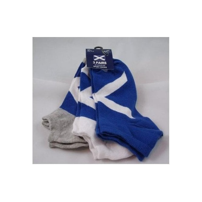 Scotland Flag Ladies  Training Socks