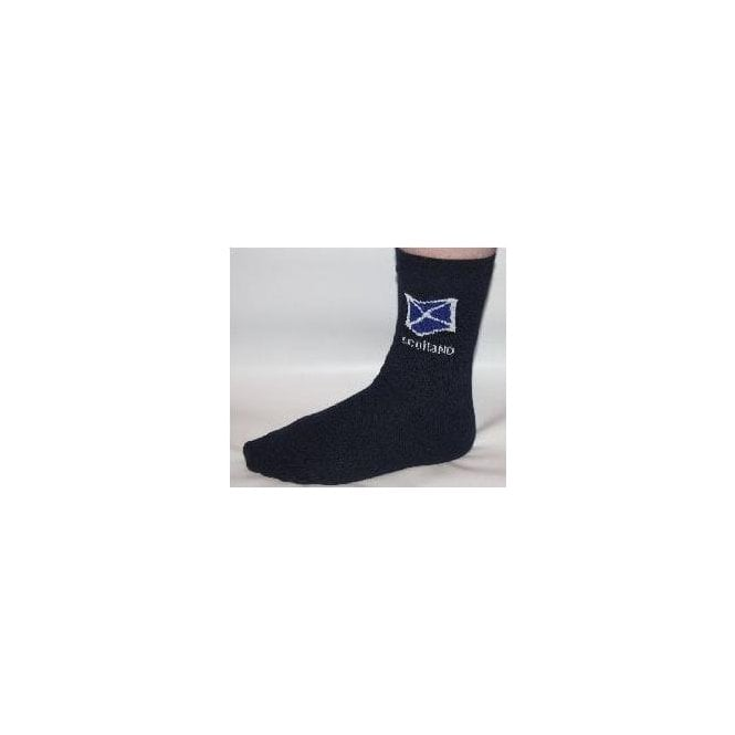 Union Jack Wear Scotland Flag Design Socks