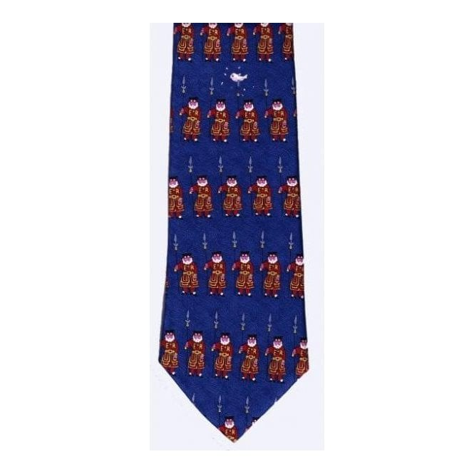 Union Jack Wear Beefeater Silk Tie