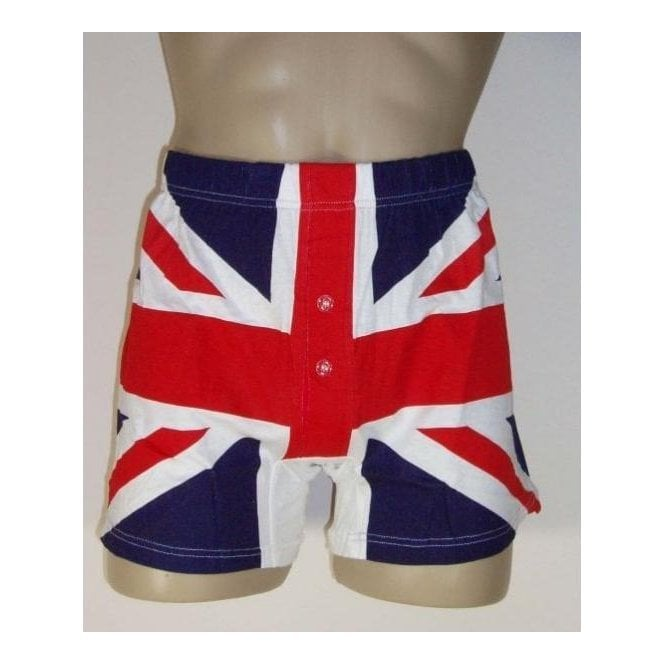 Union Jack Wear Union Jack Boxers - SIX pairs Multipack Mens Boxer Shorts