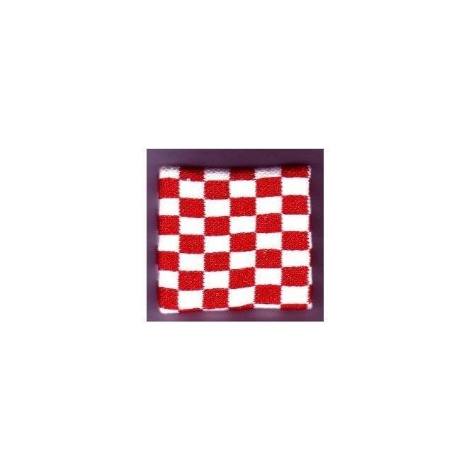 Union Jack Wear Red and White Chequered Wristband