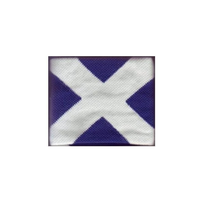 Union Jack Wear Saltire Wristband Scotland Flag Wristband/Sweatband