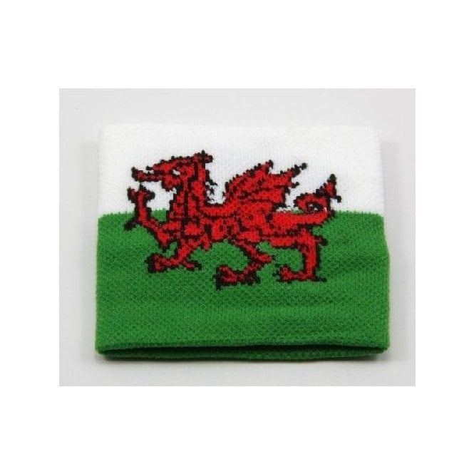 Union Jack Wear Wales Flag wristband - One