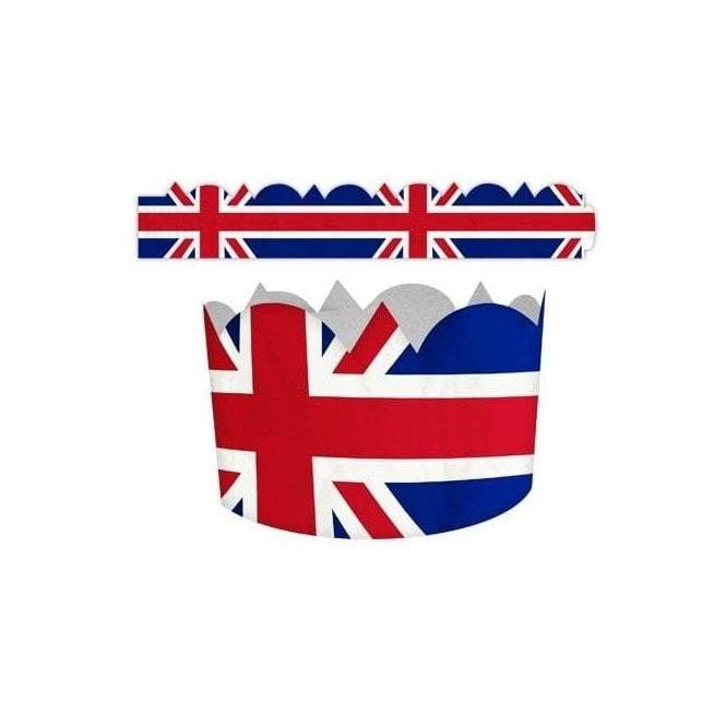 Union Jack Wear Union Jack Crowns - pack of 5