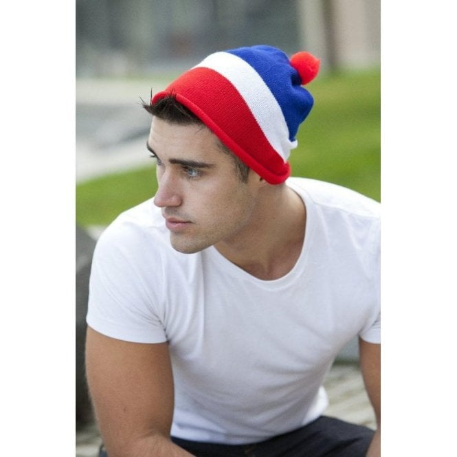 Union Jack Wear Red White and Blue Designer hat