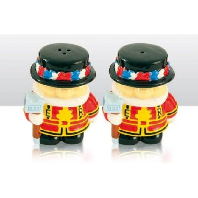 Union Jack Wear Beefeater Cruet Set