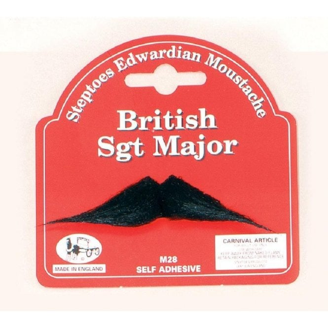 Union Jack Wear British Sgt Major Moustache