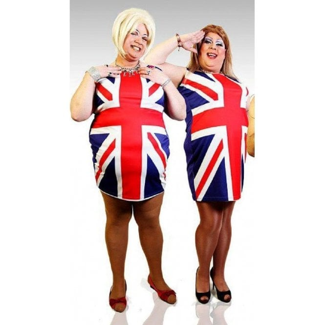 Union Jack Wear Mens Union Jack Spice Girls Fancy Dress