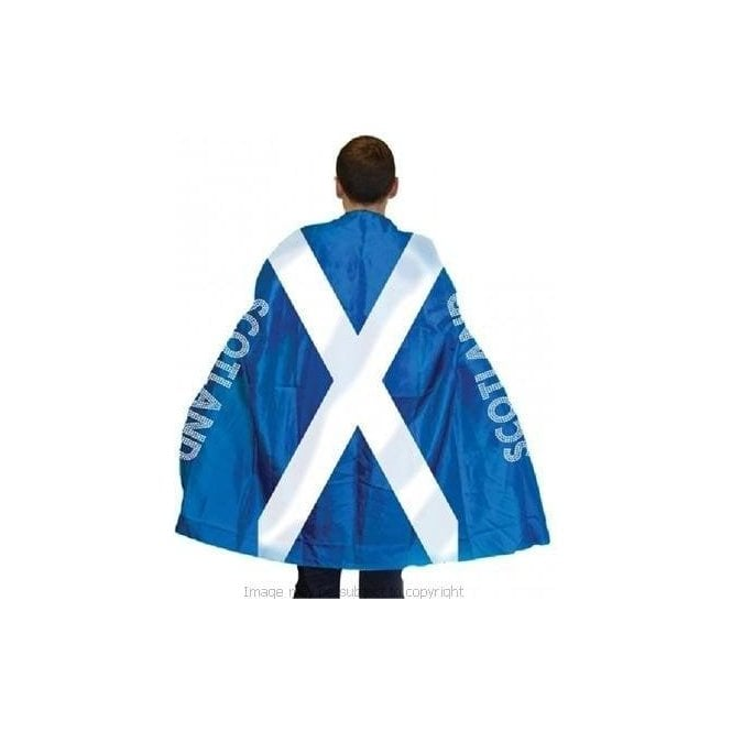 Union Jack Wear Scotland Flag Cape
