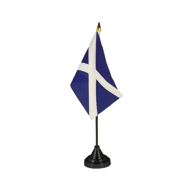 Union Jack Wear Scotland Flag Table Flags - pack of 12