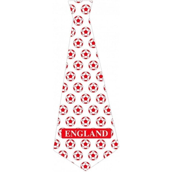 Union Jack Wear England Kipper Tie - Football Tie