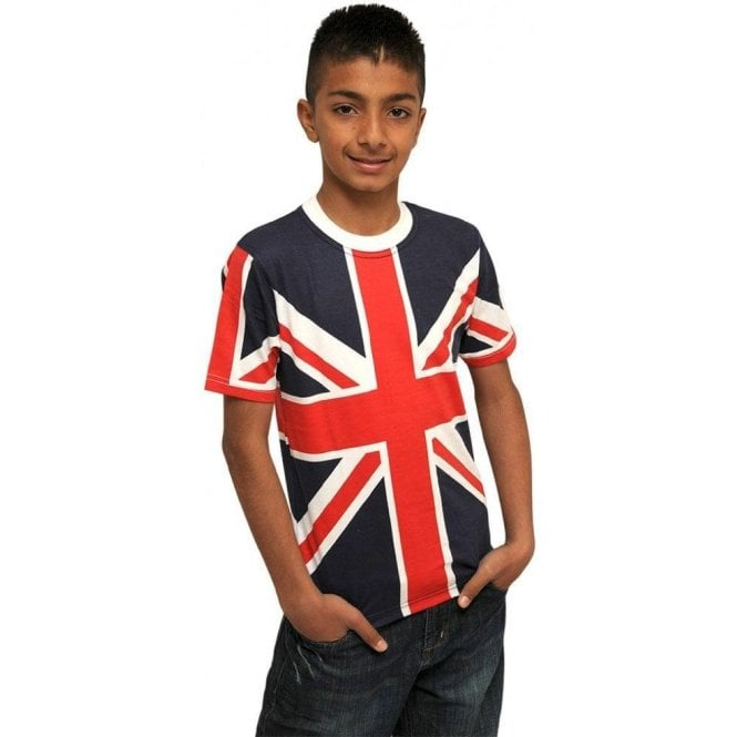 Union Jack Wear Kids Union Jack T shirt