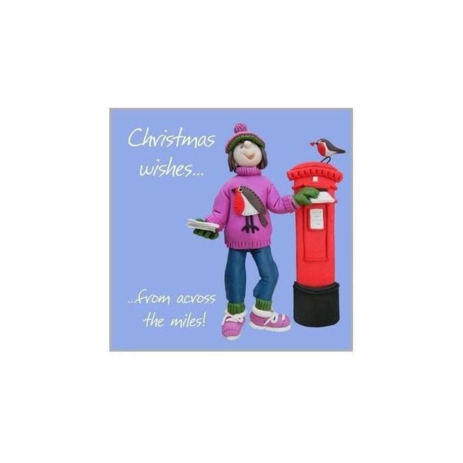 Union Jack Wear Christmas from across the miles - Christmas Card