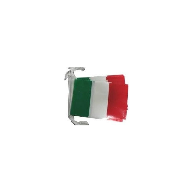 Red White & Green Bunting 10m