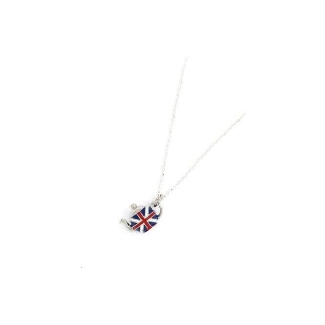 Union Jack Wear Union Jack Tea Pot Pendant