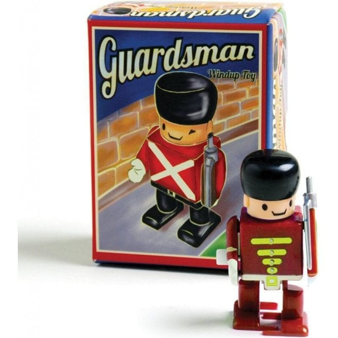 Union Jack Wear British Guardsman Wind-Up Toy