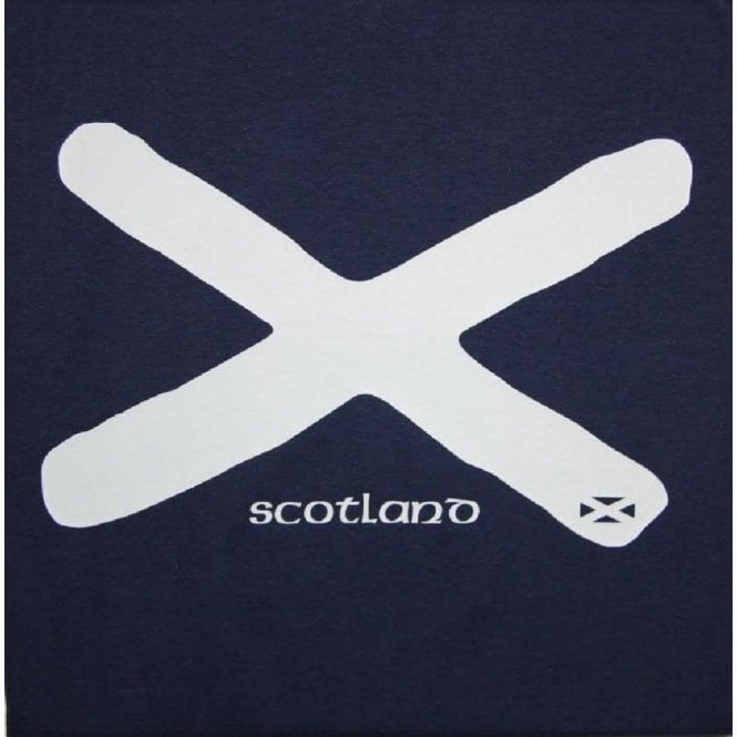 Union Jack Wear Scotland Saltire St Andrews Flag Adult T shirt
