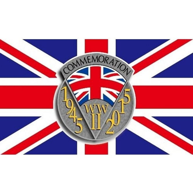 Union Jack Wear World War II - 70th Anniversary Flag