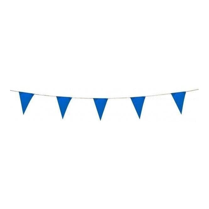 Union Jack Wear Blue Pennant Bunting 5 metres Plastic bunting 8