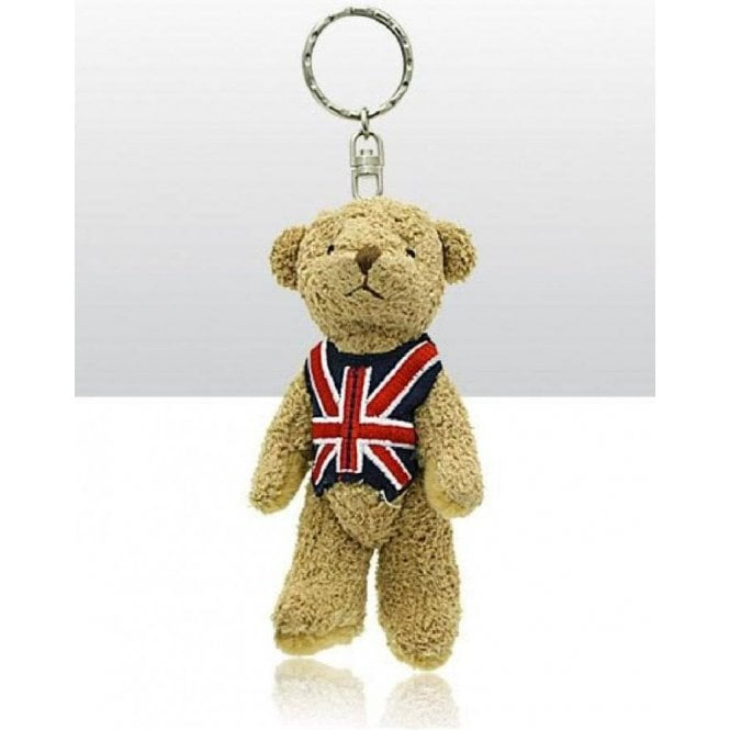 Union Jack Wear Union Jack Teddy Keyring