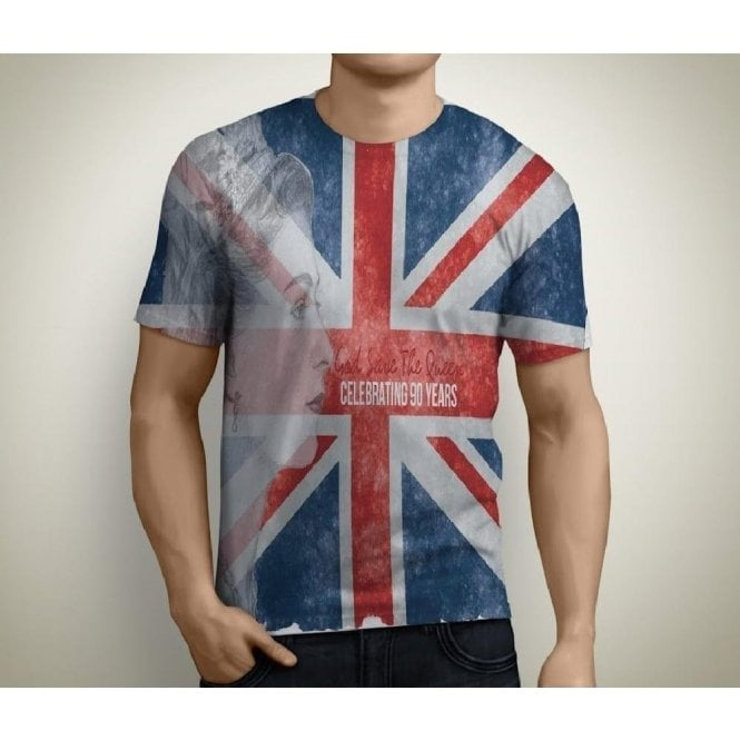"Union Jack ""God Save the Queen""  T shirt - Men's"