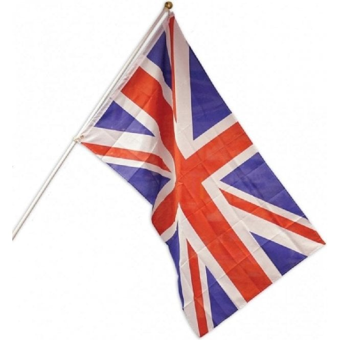 Union Jack Wear Union Jack Value Flag Pole Kit