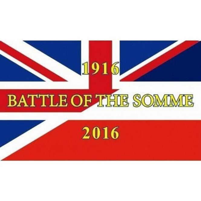 Union Jack Battle of the Somme Flag