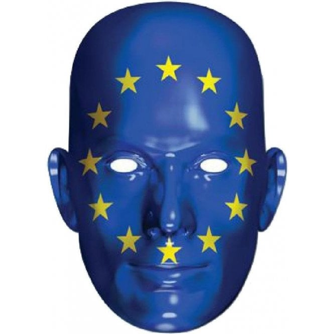 European Flag Face Mask