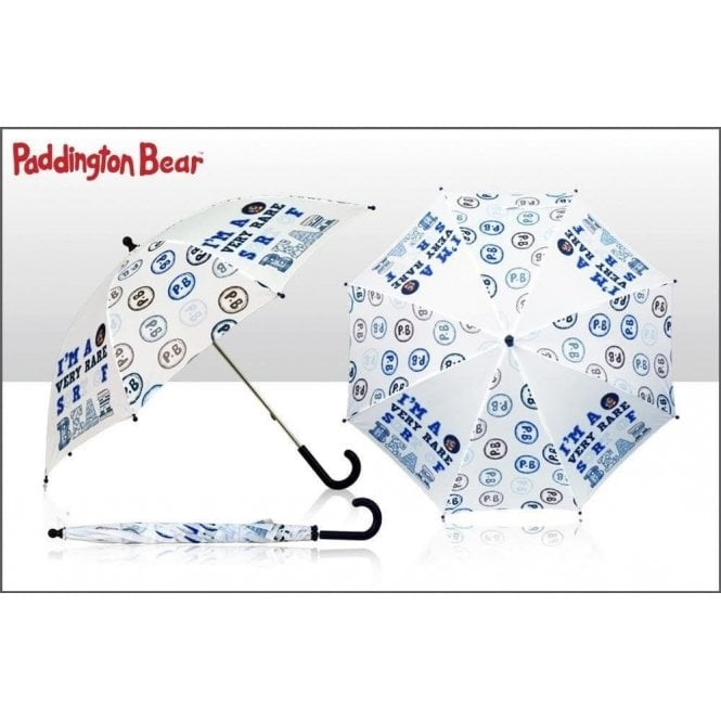 Union Jack Wear Child's Paddington Bear Umbrella - I'm a Very Rare Sort of Bear Design