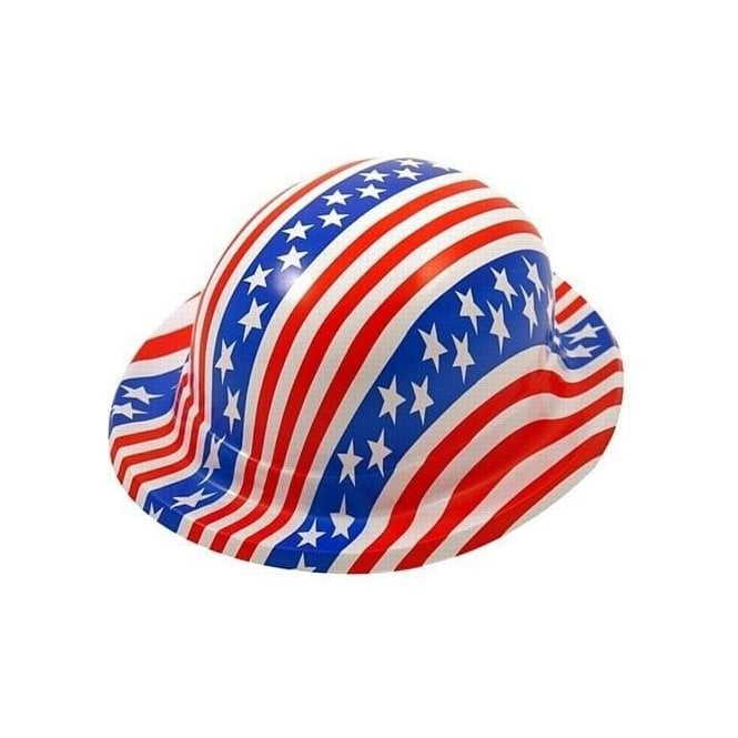 Union Jack Wear Pack of 6 American Flag Bowler Hats