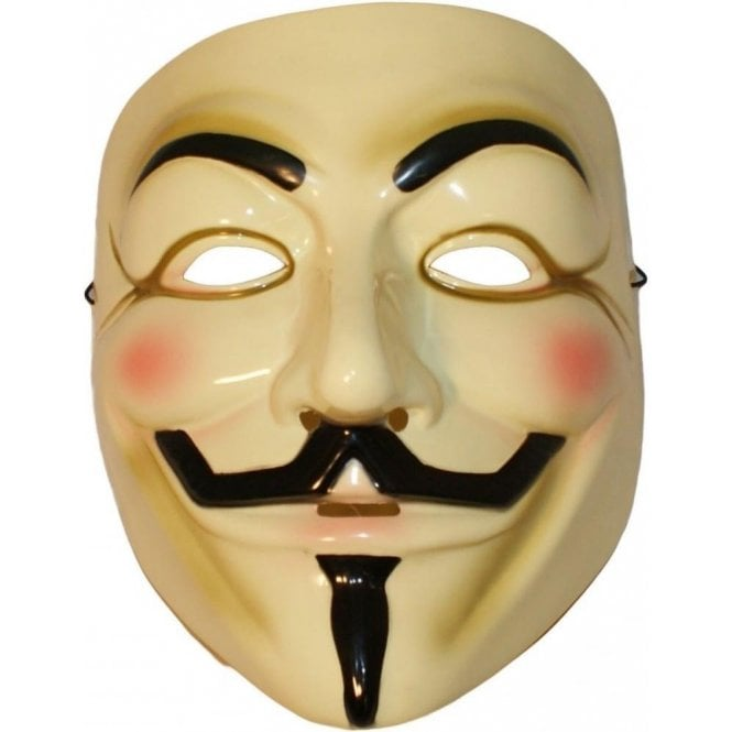 Full Face Anarchy Masquerade Mask V Vendetta Anonymous