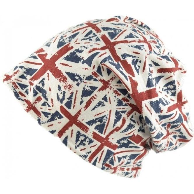 Union Jack Wear Union Jack Slouch Beanie Hat