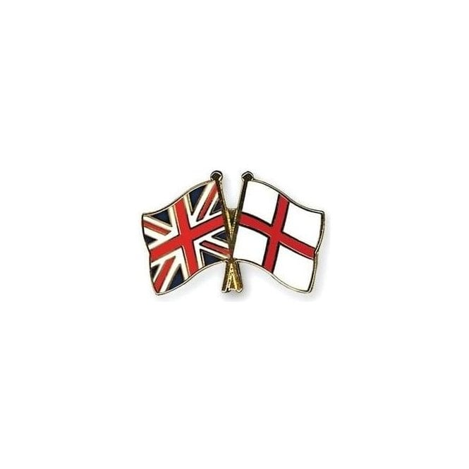 St George/Union Jack Flag Pin Badge