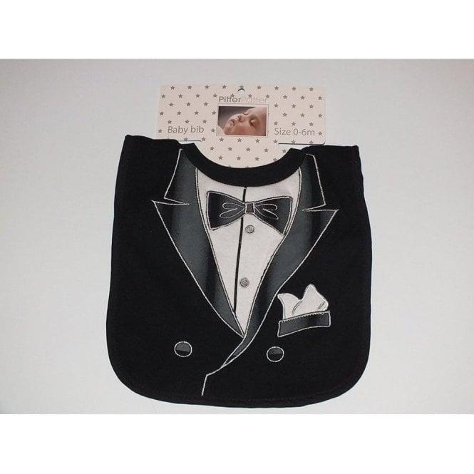 Union Jack Wear Baby's Tuxedo Bib