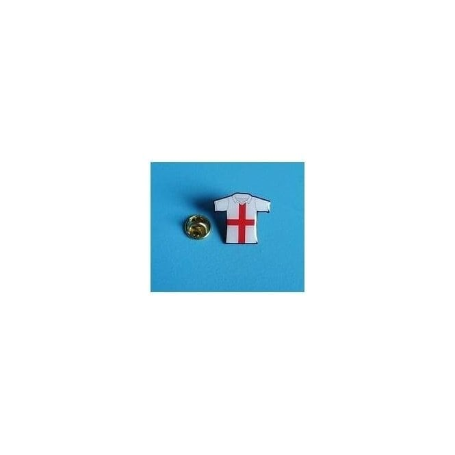 Union Jack Wear England Football Shirt Pin Badge